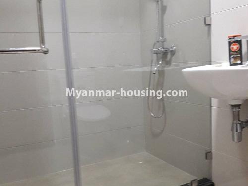 မြန်မာအိမ်ခြံမြေ - ရောင်းမည် property - No.3173 - လှိုင်မြို့နယ် လမင်း Luxury Condo တွင် ပြင်ဆင်ပြီး အခန်းတစ်ခန်း ရောင်းရန်ရှိသည်။ - bathroom view