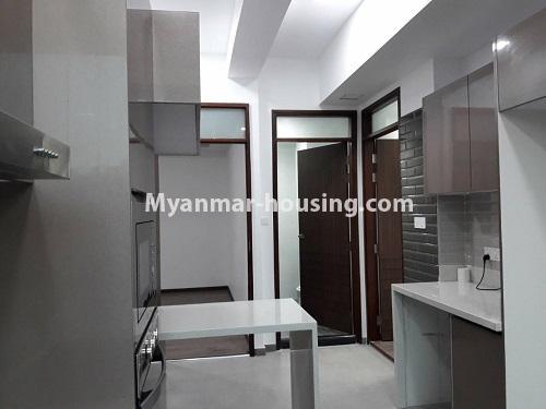 မြန်မာအိမ်ခြံမြေ - ရောင်းမည် property - No.3173 - လှိုင်မြို့နယ် လမင်း Luxury Condo တွင် ပြင်ဆင်ပြီး အခန်းတစ်ခန်း ရောင်းရန်ရှိသည်။ - dining area view