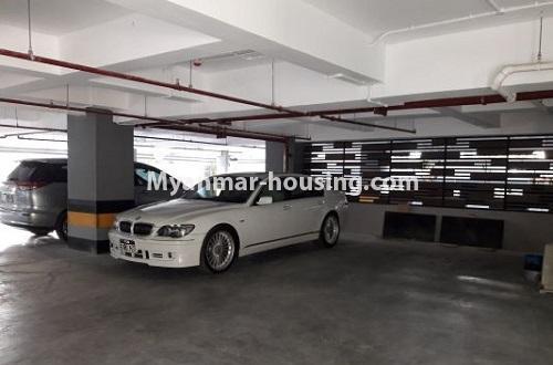 မြန်မာအိမ်ခြံမြေ - ရောင်းမည် property - No.3173 - လှိုင်မြို့နယ် လမင်း Luxury Condo တွင် ပြင်ဆင်ပြီး အခန်းတစ်ခန်း ရောင်းရန်ရှိသည်။ - car parking