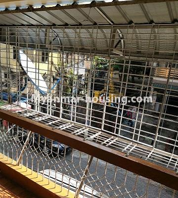 Myanmar real estate - for sale property - No.3179 - Apartment for sale in Sanchaung! - balcony