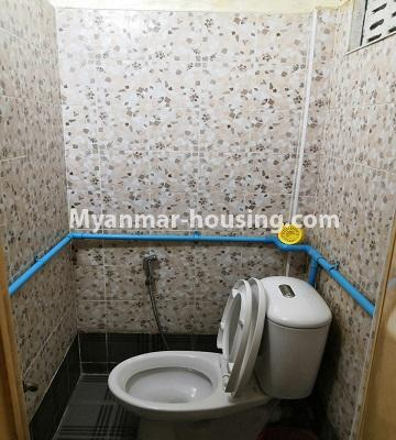Myanmar real estate - for sale property - No.3179 - Apartment for sale in Sanchaung! - toilet
