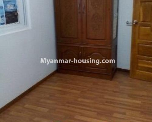 Myanmar real estate - for sale property - No.3208 - Lower floor apartment for sale in Hlaing! - bedroom 1