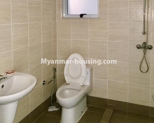 မြန်မာအိမ်ခြံမြေ - ရောင်းမည် property - No.3209 - သန်လျင် ကြယ်မြို့တော် ကွန်ဒိုတွင် အခန်းရောင်းရန် ရှိသည်။  - bathroom view