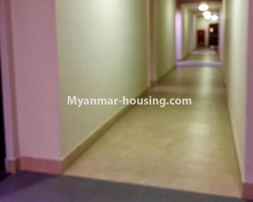 မြန်မာအိမ်ခြံမြေ - ရောင်းမည် property - No.3209 - သန်လျင် ကြယ်မြို့တော် ကွန်ဒိုတွင် အခန်းရောင်းရန် ရှိသည်။  - corridor