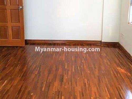Myanmar real estate - for sale property - No.3233 - Shwe Moe Kaung condominium room for sale in Yankin! - master bedroom