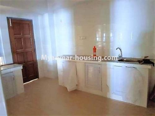 Myanmar real estate - for sale property - No.3233 - Shwe Moe Kaung condominium room for sale in Yankin! - kitchen