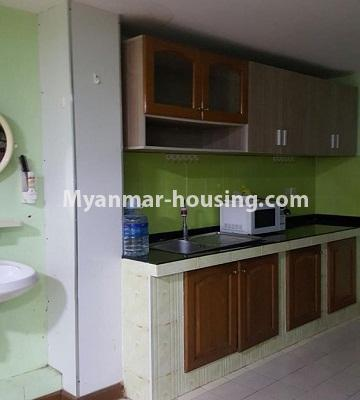 Myanmar real estate - for sale property - No.3242 - Taw Win Thiri Condo room for sale in 9 Mile, Mayangone! - kitchen