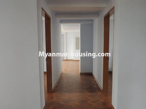 Myanmar real estate - for sale property - No.3247 - Penthouse for sale in Mayangone! - corridor