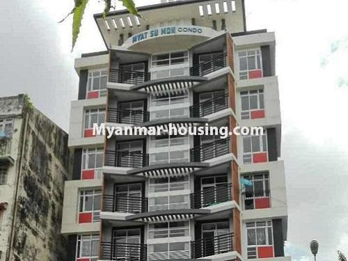 Myanmar real estate - for sale property - No.3247 - Penthouse for sale in Mayangone! - building view