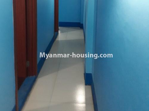 缅甸房地产 - 出售物件 - No.3251 - Apartment for sale in Yankin! - corridor