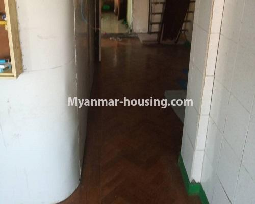 Myanmar real estate - for sale property - No.3254 - Ground floor with mezzanine in Bahan! - corridor