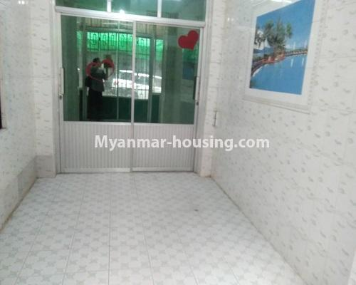缅甸房地产 - 出售物件 - No.3255 - Ground floor apartment for sale in Sanchaung! - living room