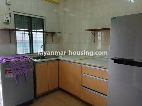 Myanmar real estate - for sale property - No.3258 - Apartment for sale in Yankin! - kitchen