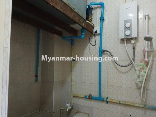 Myanmar real estate - for sale property - No.3258 - Apartment for sale in Yankin! - bathroom