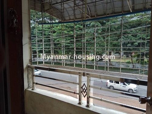 Myanmar real estate - for sale property - No.3258 - Apartment for sale in Yankin! - balcony