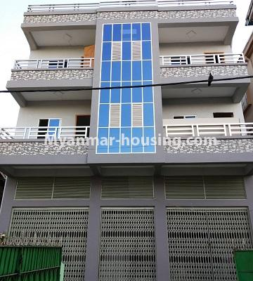 Myanmar real estate - for sale property - No.3261 - Apartment for sale in Yankin! - building
