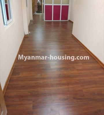 Myanmar real estate - for sale property - No.3261 - Apartment for sale in Yankin! - corridor