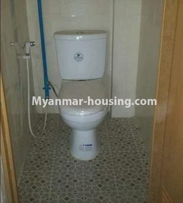 Myanmar real estate - for sale property - No.3261 - Apartment for sale in Yankin! - toilet