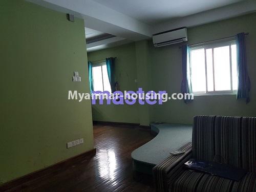 မြန်မာအိမ်ခြံမြေ - ရောင်းမည် property - No.3284 - ရေကျော်ဈေး အနီးတွင် တိုက်ခန်းကျယ်တစ်ခန်း ရောင်းရန်ရှိသည်။ - master bedroom
