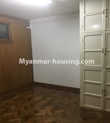 ミャンマー不動産 - 売り物件 - No.3285 - First floor apartment for sale in Downtown. - bedroom 1