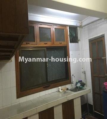ミャンマー不動産 - 売り物件 - No.3285 - First floor apartment for sale in Downtown. - kitchen room