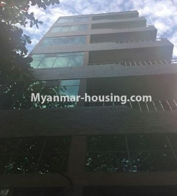 မြန်မာအိမ်ခြံမြေ - ရောင်းမည် property - No.3287 - သင်္ဃန်းကျွန်းတွင် တိုက်ခန်းသစ် ရောင်းရန်ရှိသည်။ - building view