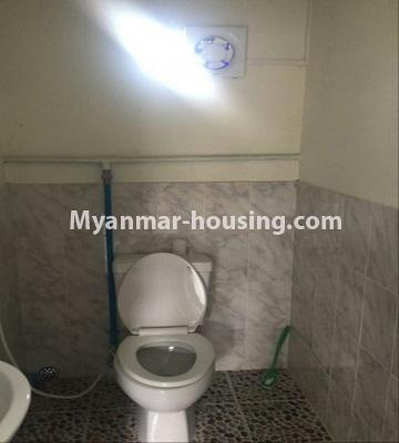 Myanmar real estate - for sale property - No.3289 - One storey landed house for sale in Mayangone! - toilet