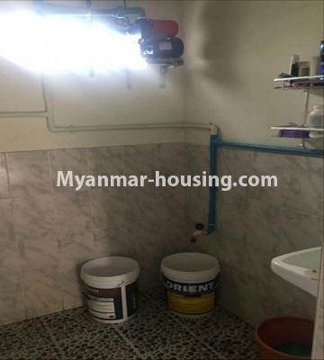 Myanmar real estate - for sale property - No.3289 - One storey landed house for sale in Mayangone! - bathroom