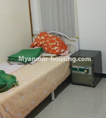 Myanmar real estate - for sale property - No.3295 - Decorated two bedroom condominium unit near Aung Zay Ya Bridge in Insein! - bedroom 2