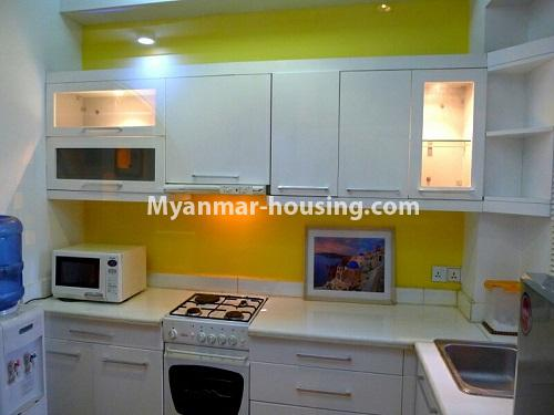 Myanmar real estate - for sale property - No.3296 - A Condominium room with full amenties for sale in Bahan! - kitchen