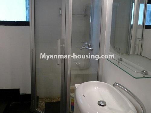 Myanmar real estate - for sale property - No.3296 - A Condominium room with full amenties for sale in Bahan! - bathroom