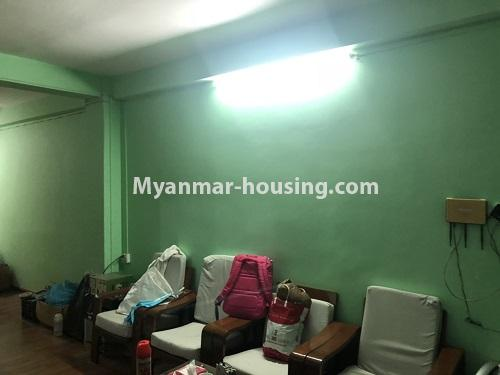 Myanmar real estate - for sale property - No.3299 - Three bedroom apartment room for sale in Gwa Zay, Sanchaing! - living room