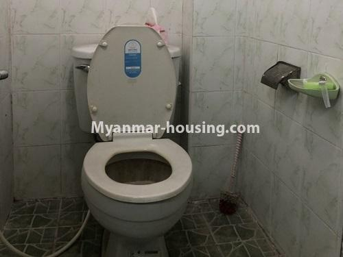 Myanmar real estate - for sale property - No.3299 - Three bedroom apartment room for sale in Gwa Zay, Sanchaing! - toilet