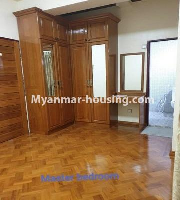 Myanmar real estate - for sale property - No.3301 - New decorated mini condominium room for sale in Zawtika Street, Thin Gan Gyun ! - master bedroom