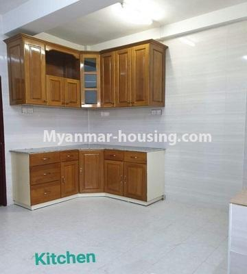 Myanmar real estate - for sale property - No.3301 - New decorated mini condominium room for sale in Zawtika Street, Thin Gan Gyun ! - kitchen