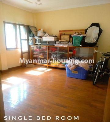 Myanmar real estate - for sale property - No.3302 - A house in a quiet and nice area for sale in Hlaing Thar Yar! - single bedroom view