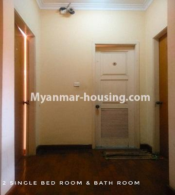 缅甸房地产 - 出售物件 - No.3302 - A house in a quiet and nice area for sale in Hlaing Thar Yar! - single bedroom 2