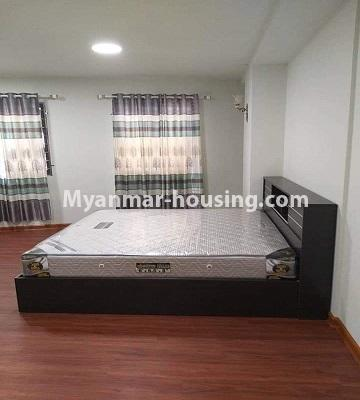 Myanmar real estate - for sale property - No.3303 - Nawarat Condominium building with full facilities for sale in Kamaryut! - master bedroom