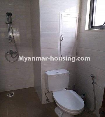 Myanmar real estate - for sale property - No.3303 - Nawarat Condominium building with full facilities for sale in Kamaryut! - bathroom