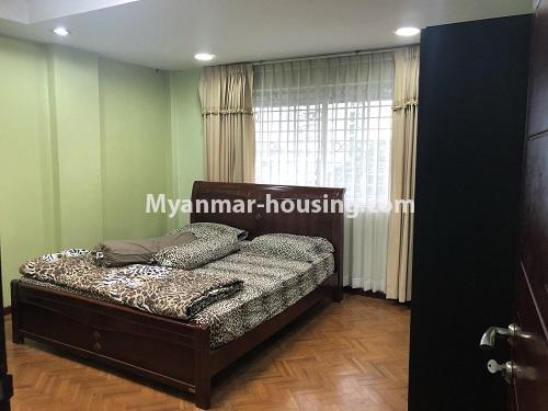 ミャンマー不動産 - 売り物件 - No.3305 - Nice condominium room with beautiful decoration for sale in Dagon! - bedroom 1