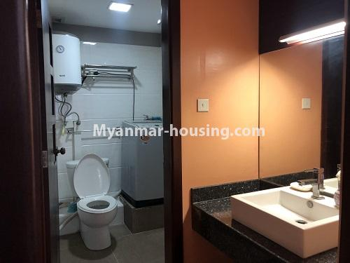 ミャンマー不動産 - 売り物件 - No.3305 - Nice condominium room with beautiful decoration for sale in Dagon! - bathroom 2