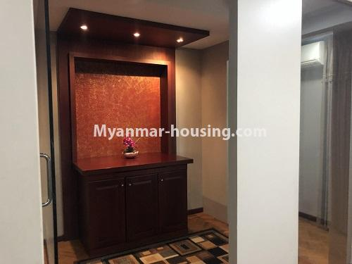 ミャンマー不動産 - 売り物件 - No.3305 - Nice condominium room with beautiful decoration for sale in Dagon! - shrine area