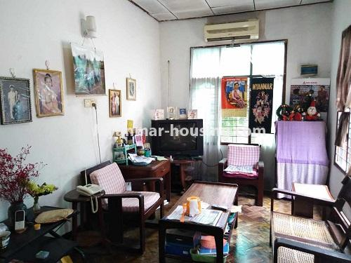 Myanmar real estate - for sale property - No.3310 - A normal landed house with cheaper price in Mayangon! - living room