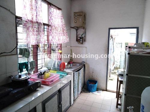Myanmar real estate - for sale property - No.3310 - A normal landed house with cheaper price in Mayangon! - kitchen