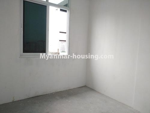 缅甸房地产 - 出售物件 - No.3320 - New Penthouse room for sale in Ahlone! - single bedroom