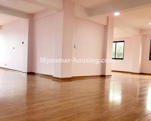 Myanmar real estate - for sale property - No.3322 - Maha Thu Khita Mini Condominium room for sale, in Insein! - another living room view