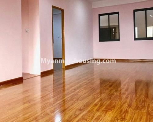 Myanmar real estate - for sale property - No.3322 - Maha Thu Khita Mini Condominium room for sale, in Insein! - another view of living room