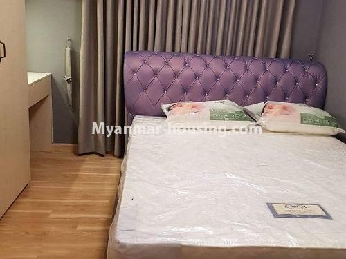 မြန်မာအိမ်ခြံမြေ - ရောင်းမည် property - No.3324 - ဒဂုံဆိပ်ကမ်း ဧရာချမ်းသာ ကွန်ဒိုတွင် အခန်းရောင်းရန် ရှိသည်။ - bedroom
