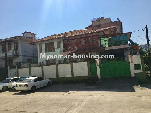 Myanmar real estate - for sale property - No.3328 - Two storey landed house in quiet and peaceful area for sale in Yankin! - house view