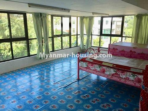 Myanmar real estate - for sale property - No.3328 - Two storey landed house in quiet and peaceful area for sale in Yankin! - master bedroom 1